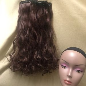 """24"""" 16 Clips hair extension clip in"""